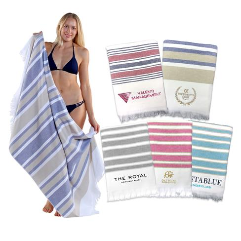 FT180 - 36 x 70, 18 lb., Copa Cabana Stripe Beach Towel