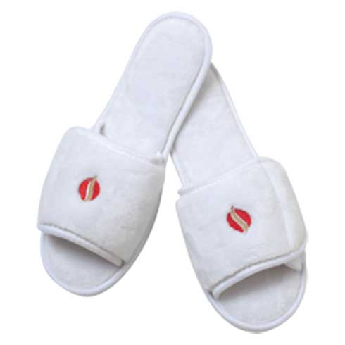 M32 - Open Toe Micro Fleece Slipper