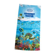 30 x 60, 11 lb. Velour, Sea Life Design