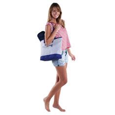 Shore Shopper Jute Tote Bag