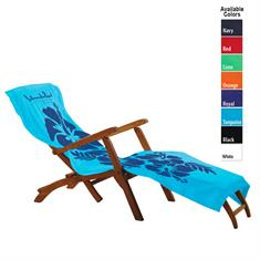 35 x 70 Velour Lounge Chair Cover