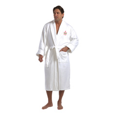 "50"" Deluxe Shawl Collar Robe, Velour"