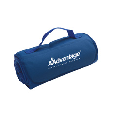 47 x 53, Fleece Roll-Up with Pocketed, Nylon Flap and Handle