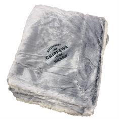 50 x 60 Faux Fur Sherpa Blanket with Hidden Zipper